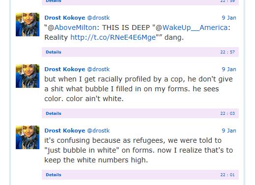 drost on white bubble