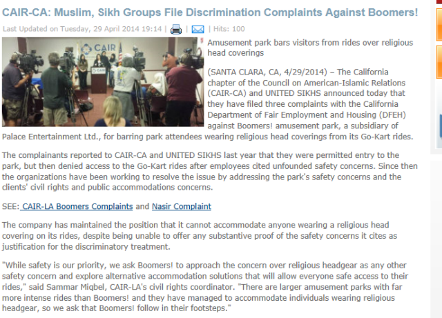 CAIR suing boomers