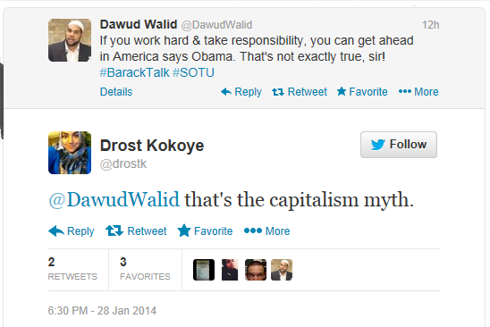 drost commenting on walids tweet on capitalism