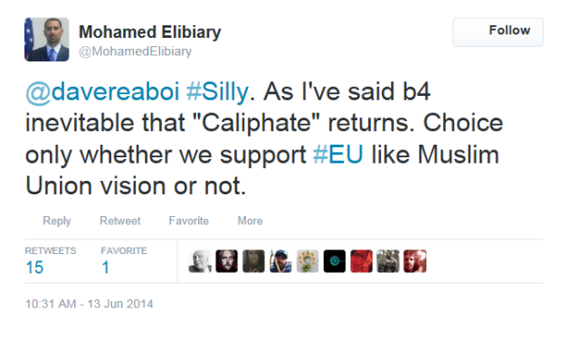 elibiary on return of caliphate