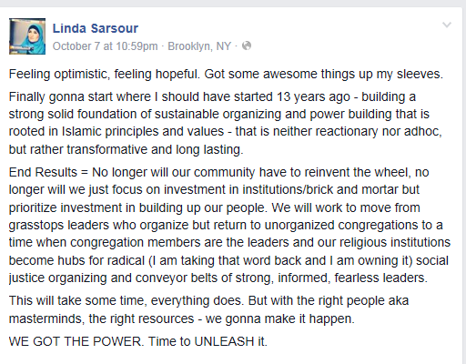 sarsour on power, time to unleash it
