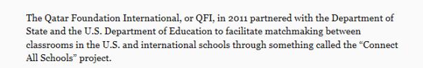 qatar on connect all schools