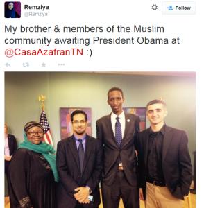 remziya on her brother meeting obama