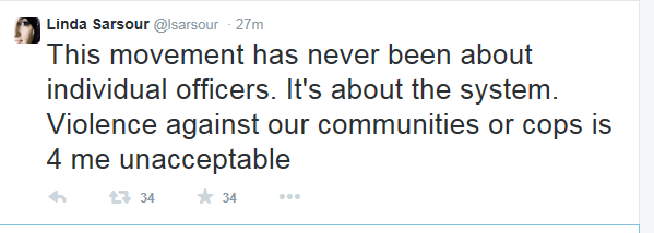 sarour on not about indivd cops