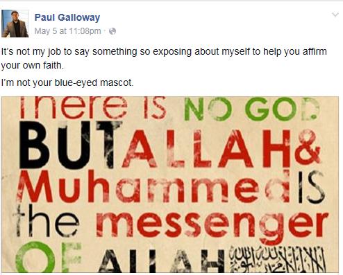 galloway on the shahada