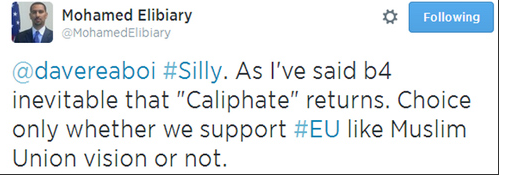 elibiary on caliphate return