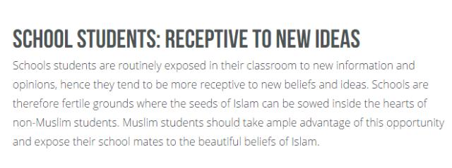 islam in public schools
