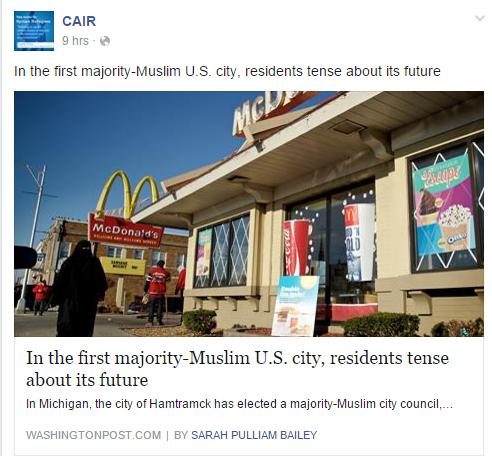 muslim majority city